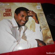 Discos de vinilo: SAM COOKE TRY A LITTLE LOVE LP 1965 RCA VICTOR LSP-3435 EDICION ALEMANA GERMANY. Lote 126076939