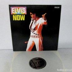 Discos de vinilo: ELVIS PRESLEY - ELVIS NOW - LP - RCA 1985 GERMANY PL 89543. Lote 126083147