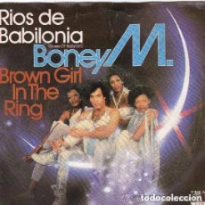 Discos de vinilo: BONEY M. - RIOS DE BABILONIA (RIVERS OF BABYLON) / BROWN GIRL IN THE RING - SINGLE SPAIN 1978. Lote 289570308
