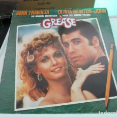 Discos de vinilo: GREASE - THE ORIGINAL SOUNDTRACK FROM THE MOTION PICTURE POLYDOR 2 LPS. Lote 126106695