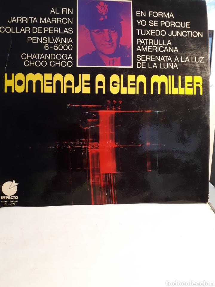HOMENATJE A GLEN MILLER (Música - Discos - LP Vinilo - Jazz, Jazz-Rock, Blues y R&B)
