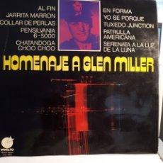 Discos de vinilo: HOMENATJE A GLEN MILLER. Lote 126112023