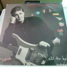 Discos de vinilo: PAUL MCCARTNEY - BEATLES - ALL THE BEST - EMI 1982 - 2 LP. Lote 126112759