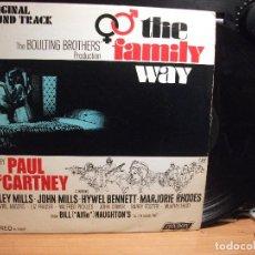 Discos de vinilo: PAUL MCCARTNEY THE FAMILY WAY LP USA 1967 PEPETO TOP. Lote 126133539