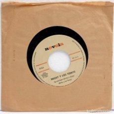 Discos de vinilo: MICKY Y LOS TONYS. UP AND DOWN. DISCO PROMOCIONAL. NOVOLA 1966. Lote 126141051