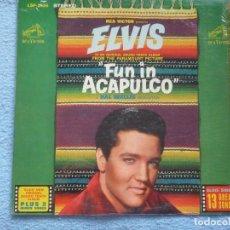 Discos de vinilo: FUN IN ACAPULCO(ELVIS PRESLEY)B.S.O.EDICION USA. Lote 126148215