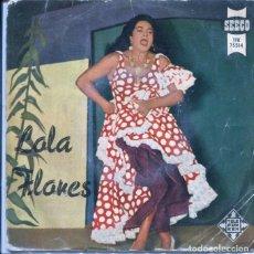 Discos de vinilo: LOLA FLORES / LA NANA / TANTO TIENES, TANTO VALES / LIMOSNA DE AMORES + 1 (EP 1958). Lote 126148851