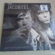 Discos de vinilo: LP+7 PULGADAS JACOBITES GOD SAVE US THE POOR SINNERS ROCK ALTERNATIVO VINILO. Lote 126162291