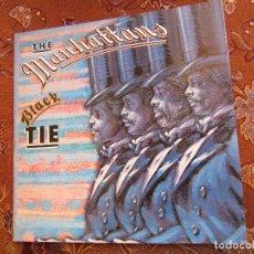 Discos de vinilo: THE MANHATTANS- LP DE VINILO- TITULO BLACK TIE- CON 10 TEMAS- ORIGINAL DEL 81- NUEVO A ESTRENAR. Lote 126166251