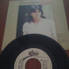 Discos de vinilo: GIANNI TOGNI LUNA SINGLES. Lote 126171416