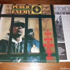 Discos de vinilo: LP PUBLIC ENEMY. Lote 126175567