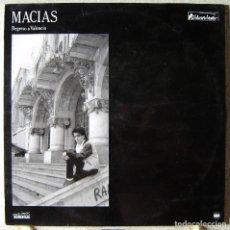 Discos de vinilo: MACIAS.REGRESO A VALENCIA...EX. Lote 126187139