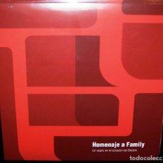 Discos de vinilo: HOMENAJE A FAMILY: UN SOPLO EN EL CORAZÓN DE ELEFANT LP. Lote 163067385