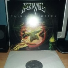 Discos de vinilo: ANVIL - THIS IS THIRTEN 2 VINILOS. Lote 126205890