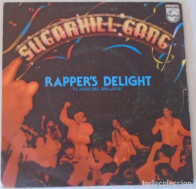 SUGARHILL GANG - RAPPER´S DELIGHT PHILIPS - 1980 (Música - Discos - Singles Vinilo - Rap / Hip Hop)