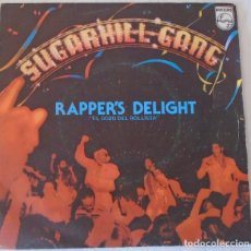 Dischi in vinile: SUGARHILL GANG - RAPPER´S DELIGHT PHILIPS - 1980. Lote 126248523