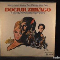 Discos de vinilo: BANDA SONORA ORIGINAL DE LA PELICULA DOCTOR ZHIVAGO - LP. Lote 126254295