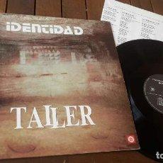Discos de vinilo: TALLER LP IDENTIDAD MADE IN SPAIN 1988 PEDRO GUERRA. Lote 126254547