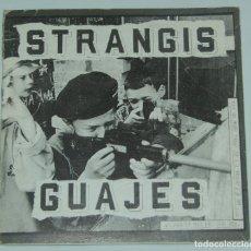 Discos de vinilo: STRANGIS GUAJES.HHH.INTOLERANCE.HARDCORE. Lote 126258339