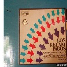 Discos de vinilo: LOS RELAMPAGOS - GRANADA + 3 - EP. Lote 126267875