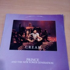 Discos de vinilo: PRINCE AND THE NEW POWER GENERATION - CREAM - BUEN ESTADO - LEER . Lote 126277127