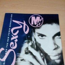 Discos de vinilo: PRINCE AND THE NEW POWER GENERATION - SEXY . 1992- BUEN ESTADO - LEER . Lote 126277383