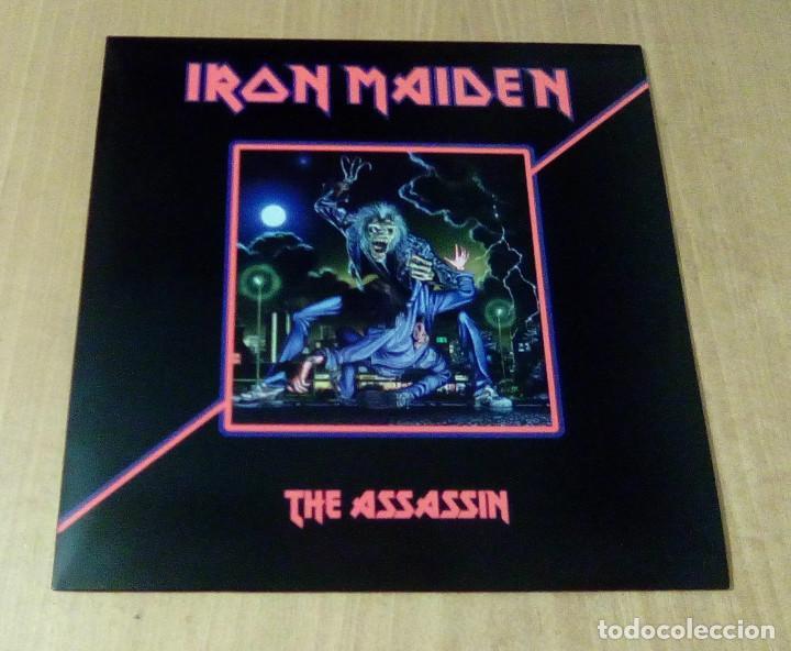 IRON MAIDEN - THE ASSASIN (LP REEDICIÓN NO OFICIAL) NUEVO (Música - Discos - LP Vinilo - Heavy - Metal)