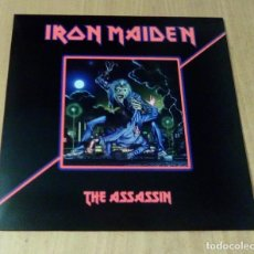 Discos de vinilo: IRON MAIDEN - THE ASSASIN (LP REEDICIÓN NO OFICIAL) NUEVO. Lote 195333273