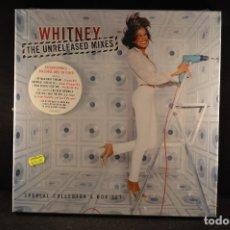 Discos de vinilo: WHITNEY – THE UNRELEASED MIXES - 4 LP BOX SET. Lote 126287871