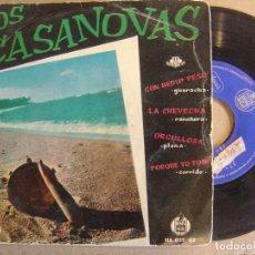 Discos de vinilo: LOS CASANOVAS - CON MEDIO PESO - EP 1959 - ANSONIA / HISPAVOX. Lote 126290763