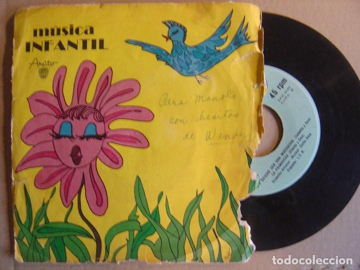 ORQUESTA I.C.R - MUSICA INFANTIL - EP CUBANO - AREITO - CARLOS ANSA (Música - Discos de Vinilo - EPs - Grupos y Solistas de latinoamérica)