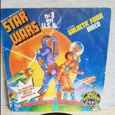 Discos de vinilo: MECO / STAR WARS Y OTRO GALACTIC FUNK / SG - RCA - 1977 / BC. **/**. Lote 126299075