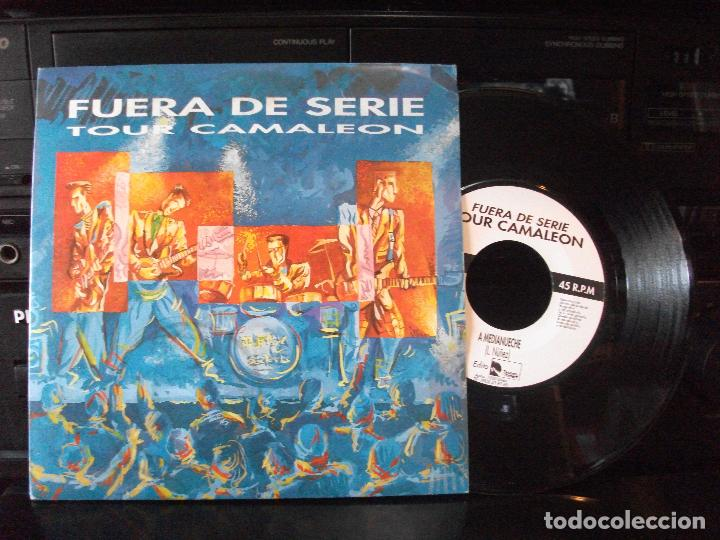 FUERA DE SERIE - TOUR CAMALEÓN. MEDIANUECHE + 1 (DRUMMERS-PRINCIPAU D´ASTURIES, 1990)- ASTURIAS (Música - Discos - Singles Vinilo - Grupos Españoles de los 90 a la actualidad)