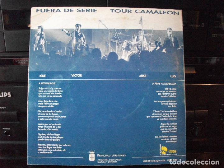 Discos de vinilo: Fuera De Serie - Tour Camaleón. Medianueche + 1 (Drummers-Principau D´Asturies, 1990)- ASTURIAS - Foto 2 - 126306803