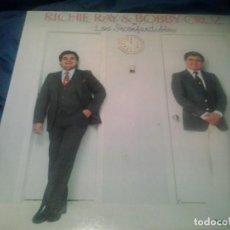 Discos de vinilo: RICARDO RAY & BOBBY CRUZ ?– LOS INCONFUNDIBLES LP SALSA. Lote 126312987
