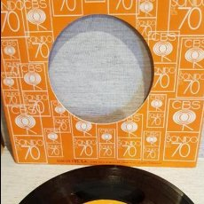 Discos de vinilo: DANIEL MAGAL / CARA DE GITANA / SG-EPIC / CARPETA PROMO CBS - 1978 / MBC. ***/***. Lote 126344919