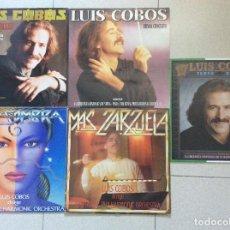 Discos de vinilo: LOTE 5 LPS LUIS COBOS. Lote 126348151