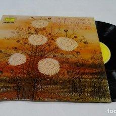 Discos de vinilo: FREDERIC CHOPIN 24 PRELUDIOS GEZA ANDALP 1975. Lote 126351331