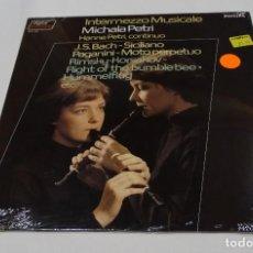 Discos de vinilo: MICHALA PETRI HANNE PETRI INTERMEZZO MUSICALE LP 1975, NUEVO PRECINTADO THE NETHERLANS. Lote 126352511