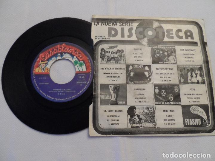 Discos de vinilo: KISS - ROCK AND ROLL ALL NITE / NOTHIN TO LOSE - Foto 2 - 126362312