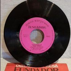 Discos de vinilo: MIGUEL RAMOS / EUROVISIÓN '68 / DISCO SORPRESA FUNDADOR / EP - 1968 / MBC. **/***. Lote 126365399