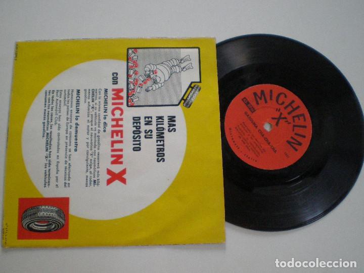 Discos de vinilo: MICHELIN X - Calypso Y Cha Cha Cha - FLEXI SINGLE ITALIA MICROWATT 196? - Foto 2 - 126369599