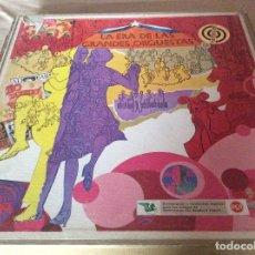 Discos de vinilo: LA ERA DE LAS GRANDES ORQUESTAS. ESTUCHE CON 10 LP'S.. Lote 126375883