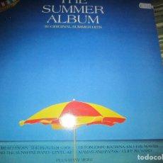 Discos de vinilo: THE SUMMER ALBUM - 30 ORIGINAL SUMMER HITS DOBLE LP - EDICION INGLESA - VIRGIN/EMI 1986 - GATEFOLD. Lote 126379971
