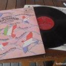 Discos de vinilo: EUROVISION 1970 LP MADE IN GREAT BRITAIN 1970 SOUVENIRS OF THE EUROVISION LA LA LA + VIVO CANTANDO. Lote 126384307