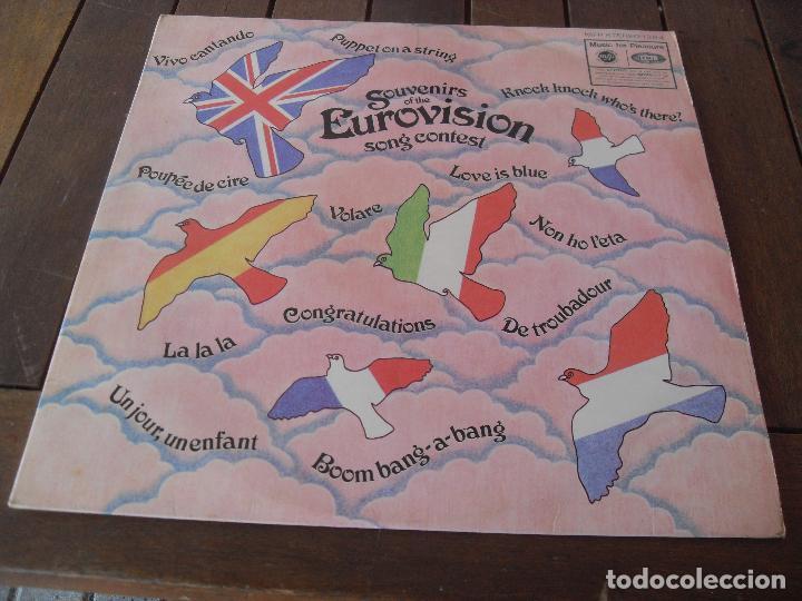 Discos de vinilo: EUROVISION 1970 lp MADE IN GREAT BRITAIN 1970 souvenirs of the eurovision la la la + vivo cantando - Foto 2 - 126384307