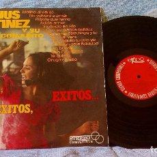 Discos de vinilo: CHUS MARTINEZ Y SU CONJUNTO - EXITOS, EXITOS, EXITOS... - EKIPO 66.8021-XVS - AÑO 1967 - MUY RARO. Lote 126387859