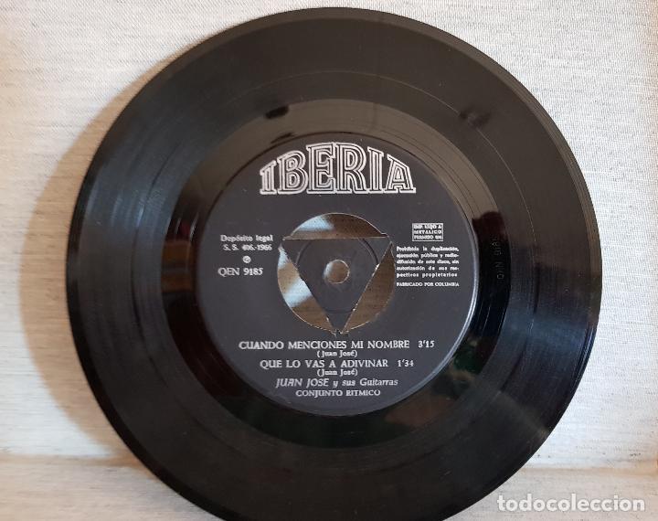 Discos de vinilo: JUAN JOSÉ Y SUS GUITARRAS / BOMBEROS DE BARCELONA / SOLO DISCO / EP-IBERIA-1966 / MBC. ***/*** - Foto 2 - 126408239