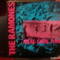 Discos de vinilo: RAMONES- REAL COOL TIME. MAXI.. Lote 126454939