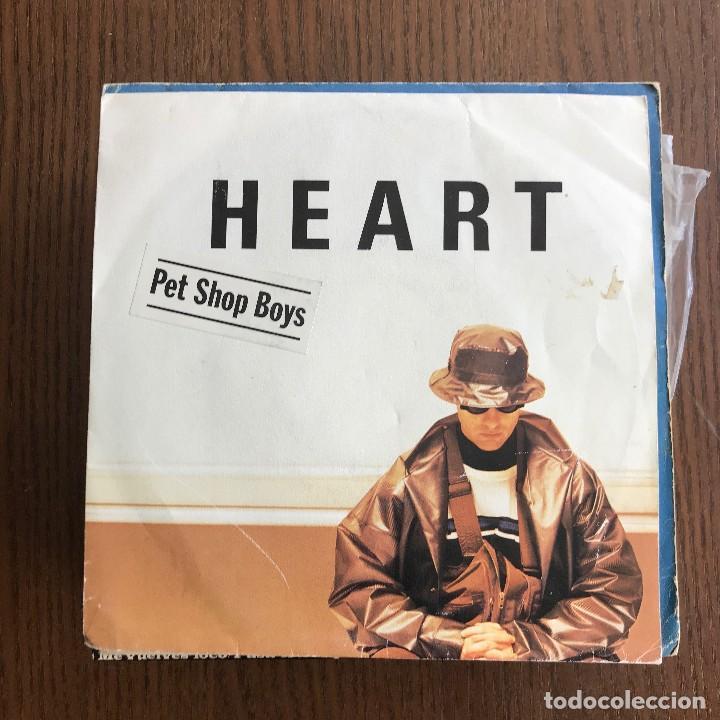PET SHOP BOYS - HEART - SINGLE EMI 1988 (Música - Discos de Vinilo - Singles - Pop - Rock Internacional de los 80)